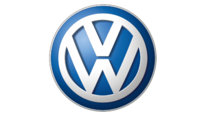 Volkswagen Logo - Window Sticker