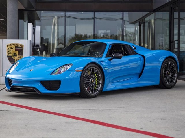 Porsche 918 - Window Sticker