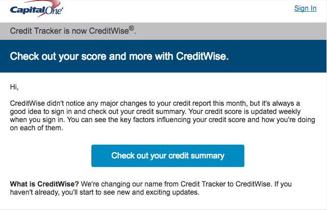 Capital One Credit-Wise Improve your Credit Score