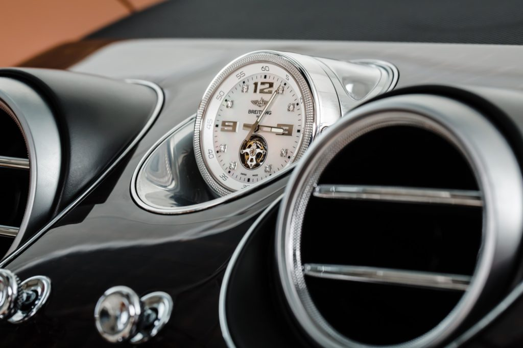 Bentley Bentayga Clock